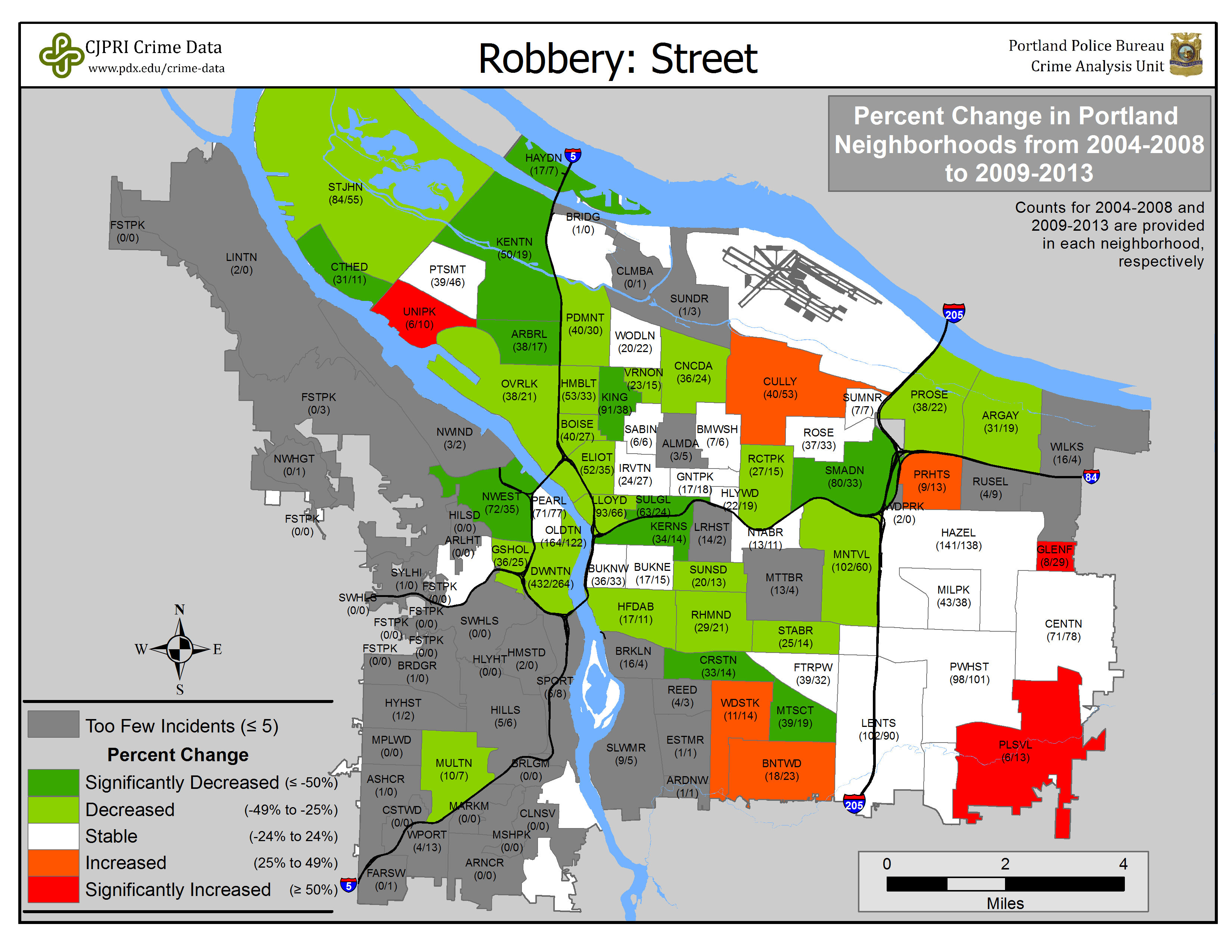 portland or neighborhood map Portland State Criminal Justice Policy Research Institute portland or neighborhood map